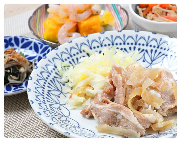 みしまの御膳ほのか 豚の生姜焼き